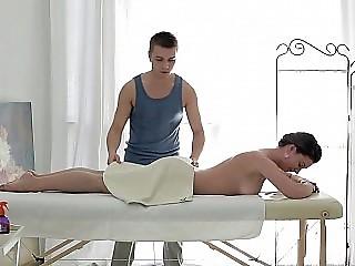 Anal fingering massage