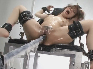 Tied up Japanese gets pounded with high speeds