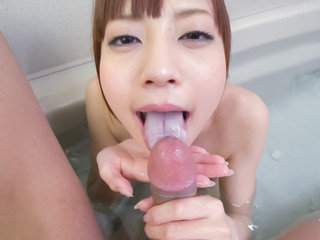 Shower pornography  along nude Yuria Mano